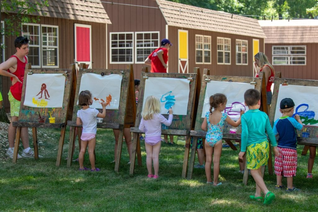 clubhouse kids painting