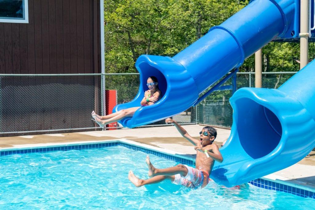 water slide duo